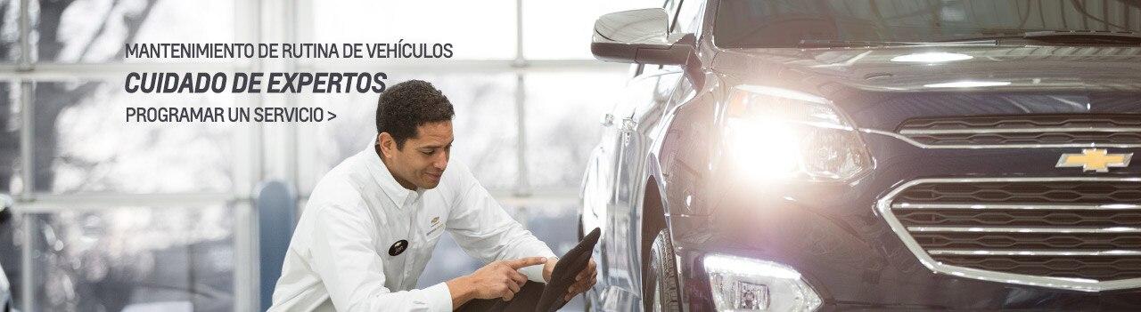 Mantenimiento programado de vehículos Chevy y manuales del propietario de los expertos del servicio certificado