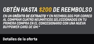 Oferta de neumáticos para primavera con servicio certificado de Chevrolet: haz clic para ver los detalles