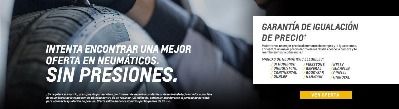 Neumáticos Chevrolet: desgaste y reemplazo de los neumáticos