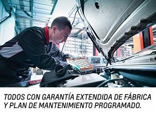 Se incluye la garantía extendida de fábrica Bumper-to-Bumper y el plan de mantenimiento programado de Chevrolet. (Garantía limitada. Visita tu concesionario para más detalles).