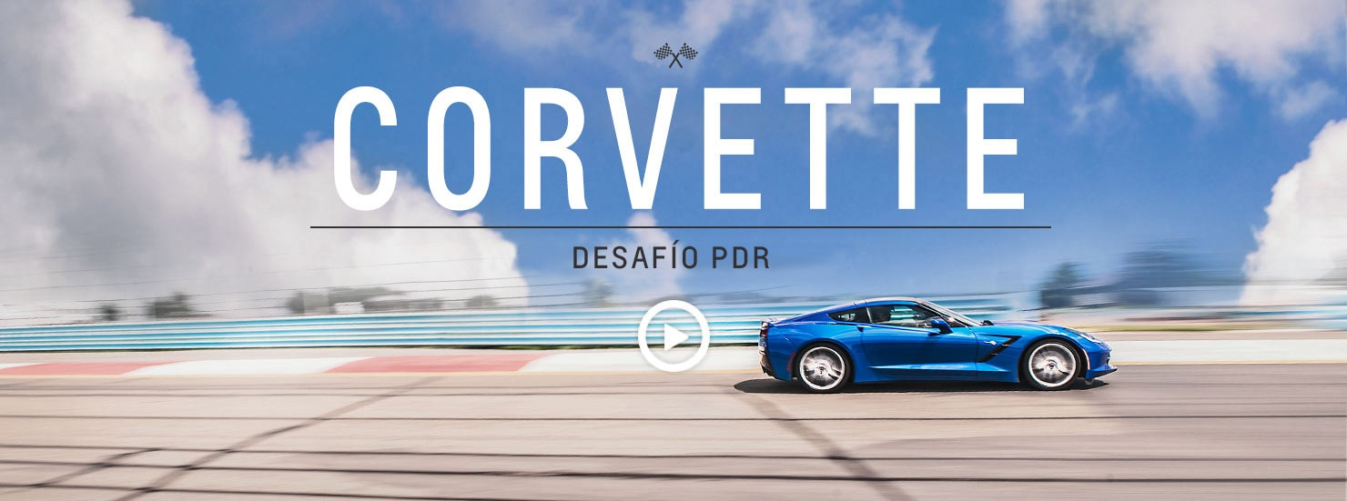 Desafío PDR del Corvette Stingray 2016