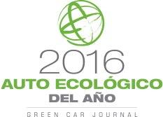"""Premio al """"Auto ecológico del año 2016"""" de Green Car"""