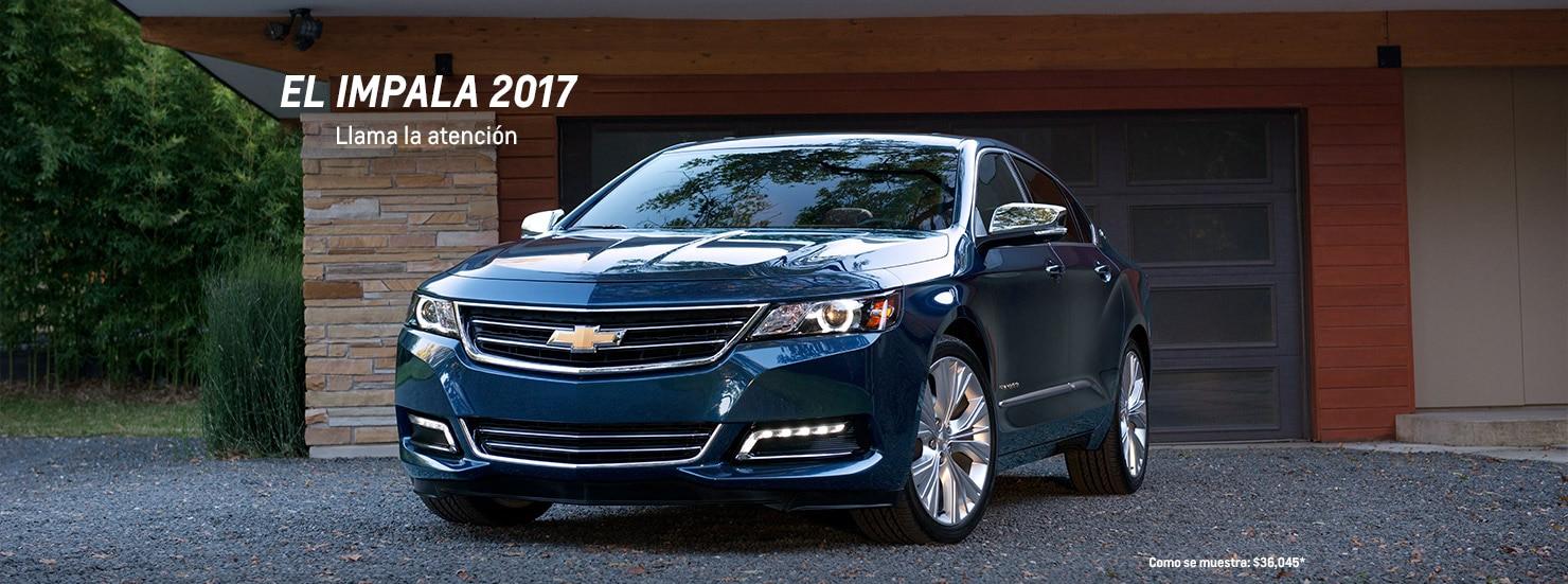 Autos familiares de tamaño completo Impala 2017