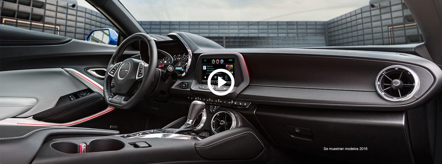Diseño del auto deportivo Camaro 2017: video