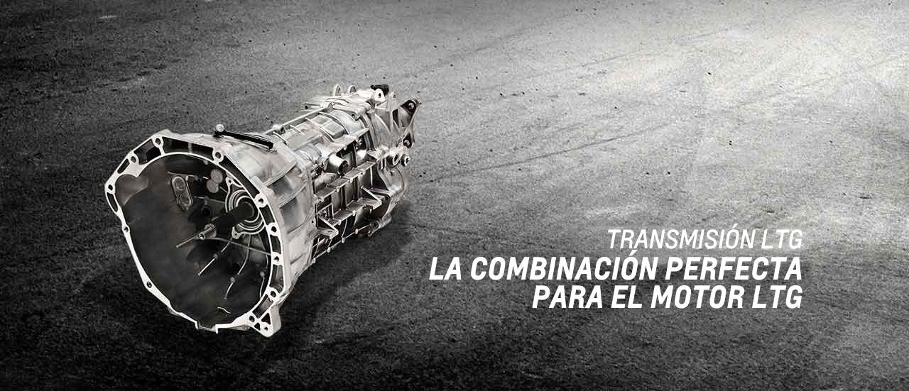 Turbo transmisión LTG Chevy Performance