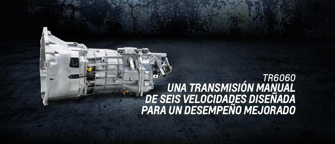 MG9 TR6060 Transmisión de alto desempeño manual de seis velocidades