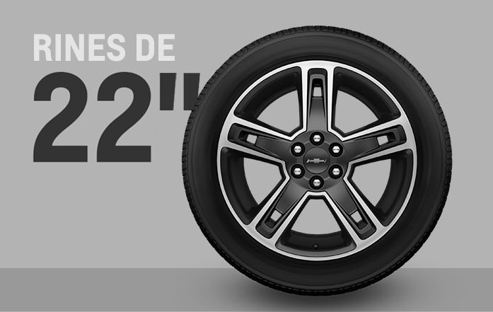 """Los rines de 22"""" están disponibles en la SUV de tamaño completo Chevrolet Tahoe 2016"""