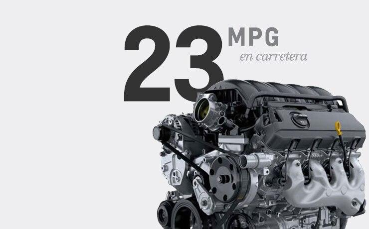 Los 23 MPG vienen estándar en la SUV de tamaño completo Chevrolet Tahoe 2016 con motor V8