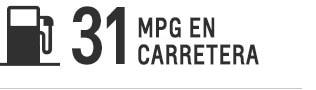 Equinox 2017 de 31 MPG en carretera
