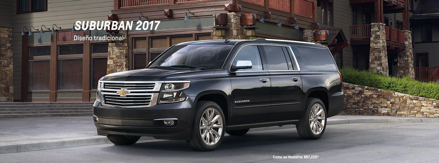 SUV grande Suburban 2017