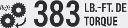 SUV Suburban 2017 Performance: 383 LB-FT de torque