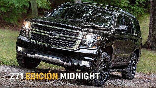 Diseño de SUV Tahoe 2017: Z71 edición Midnight