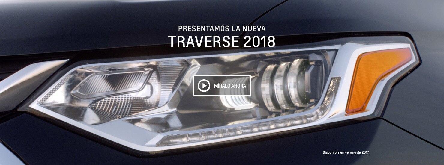 SUV mediana Traverse 2018 completamente nueva