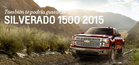 Silverado 1500 2015: camioneta pickup con consumo eficiente de combustible