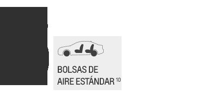 Seguridad de la van de carga compacta City Express 2016: 6 bolsas de aire estándar