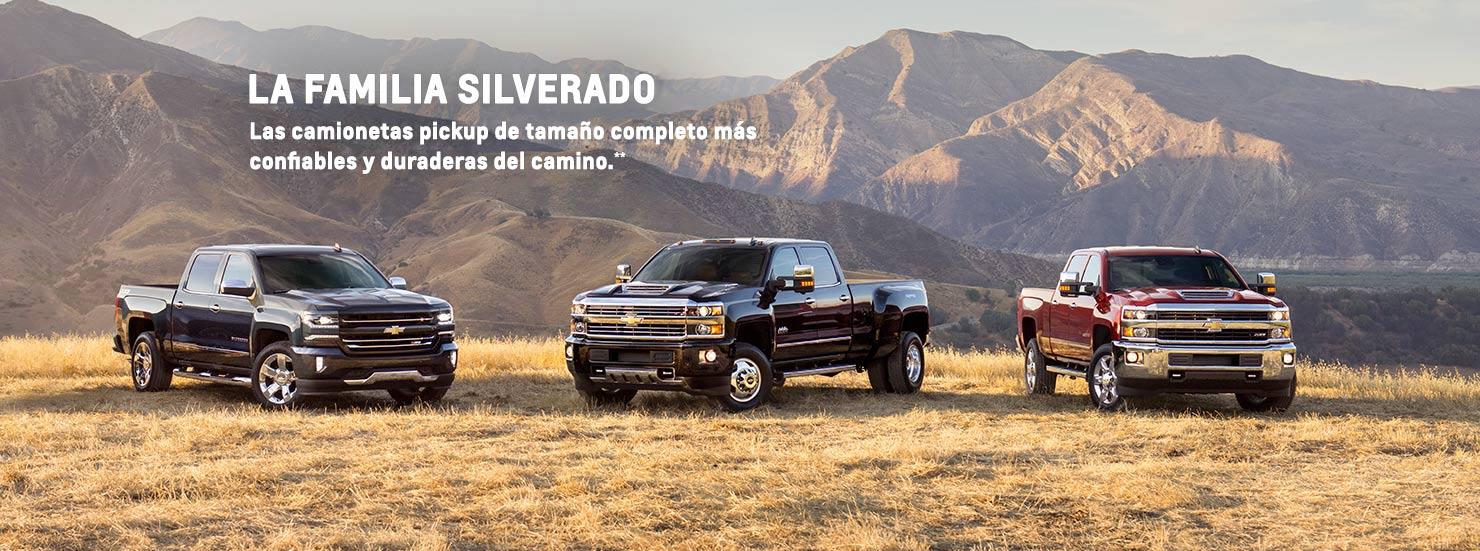 Camionetas pickup Silverado - Camionetas 4x4