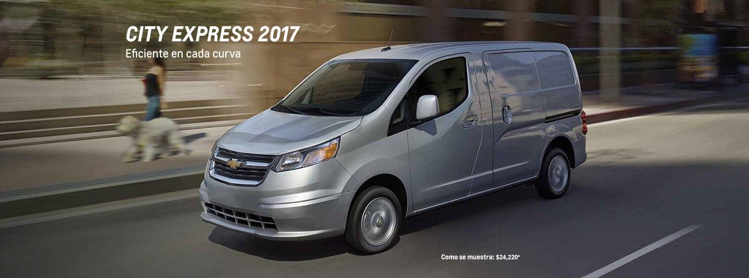 Van de carga compacta City Express 2017