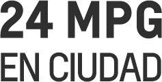 Desempeño de la van de carga compacta City Express 2017: 24 MPG en ciudad