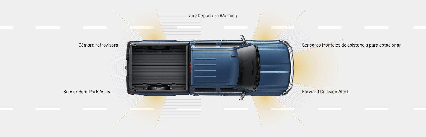 Seguridad de la camioneta Silverado 3500HD 2017: características avanzadas de seguridad, alertas
