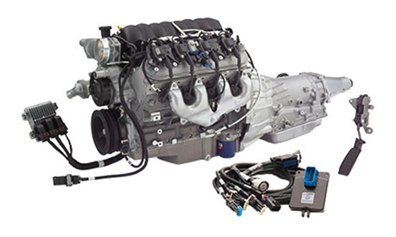 Sistema Connect and Cruise para el Chevrolet Performance LS3