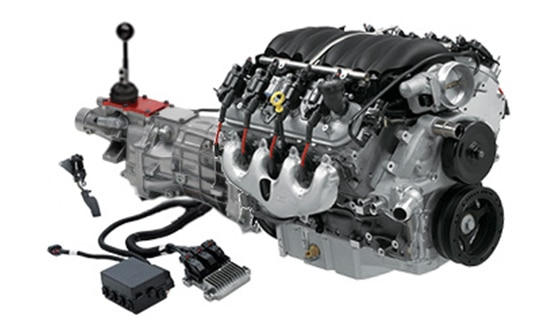 Sistema Connect and Cruise para el Chevrolet Performance LS376-480