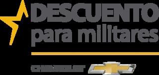 Ofertas de descuento para militares de Chevrolet
