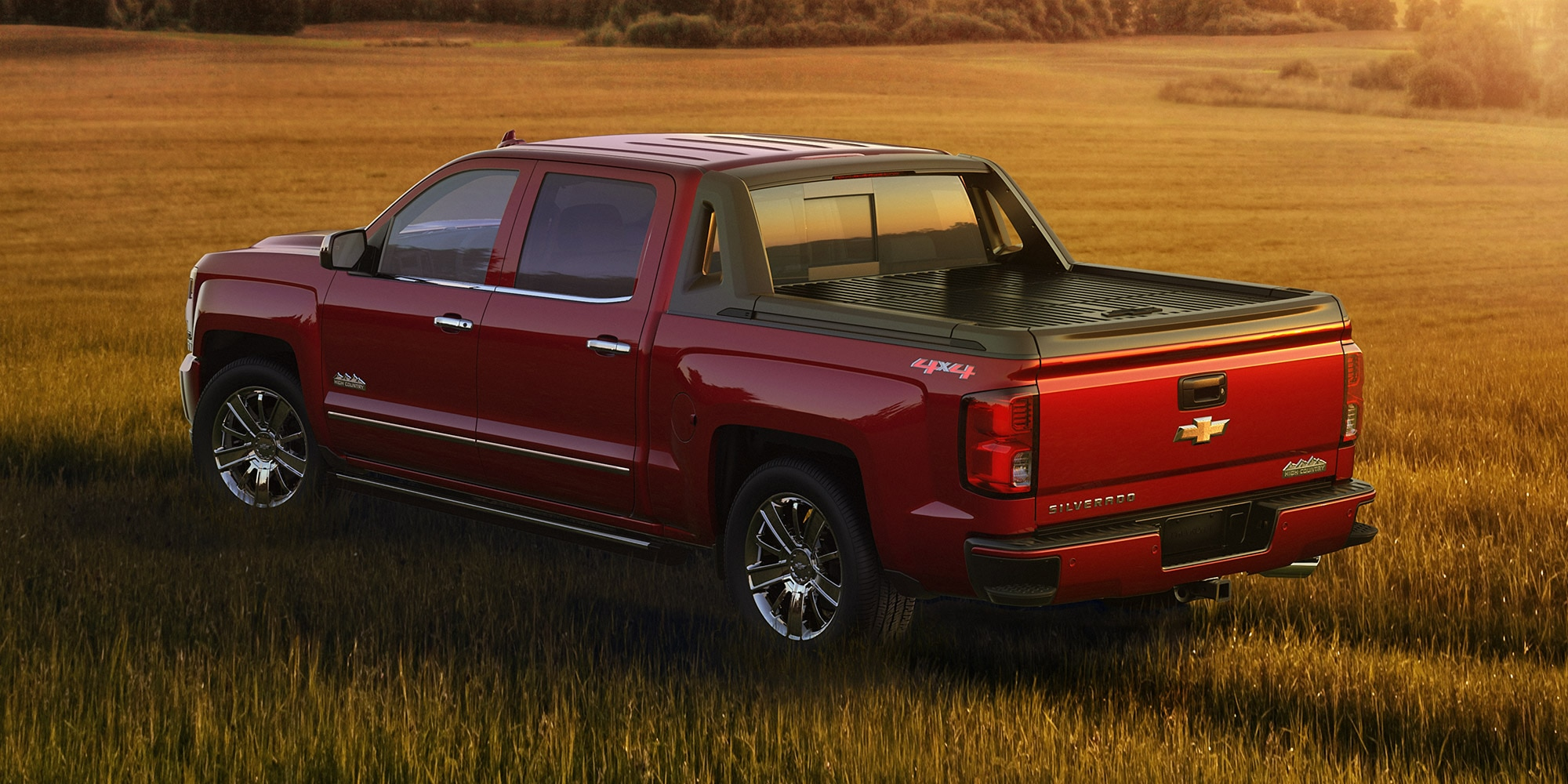 Ediciones especiales de Chevy Silverado: High Desert