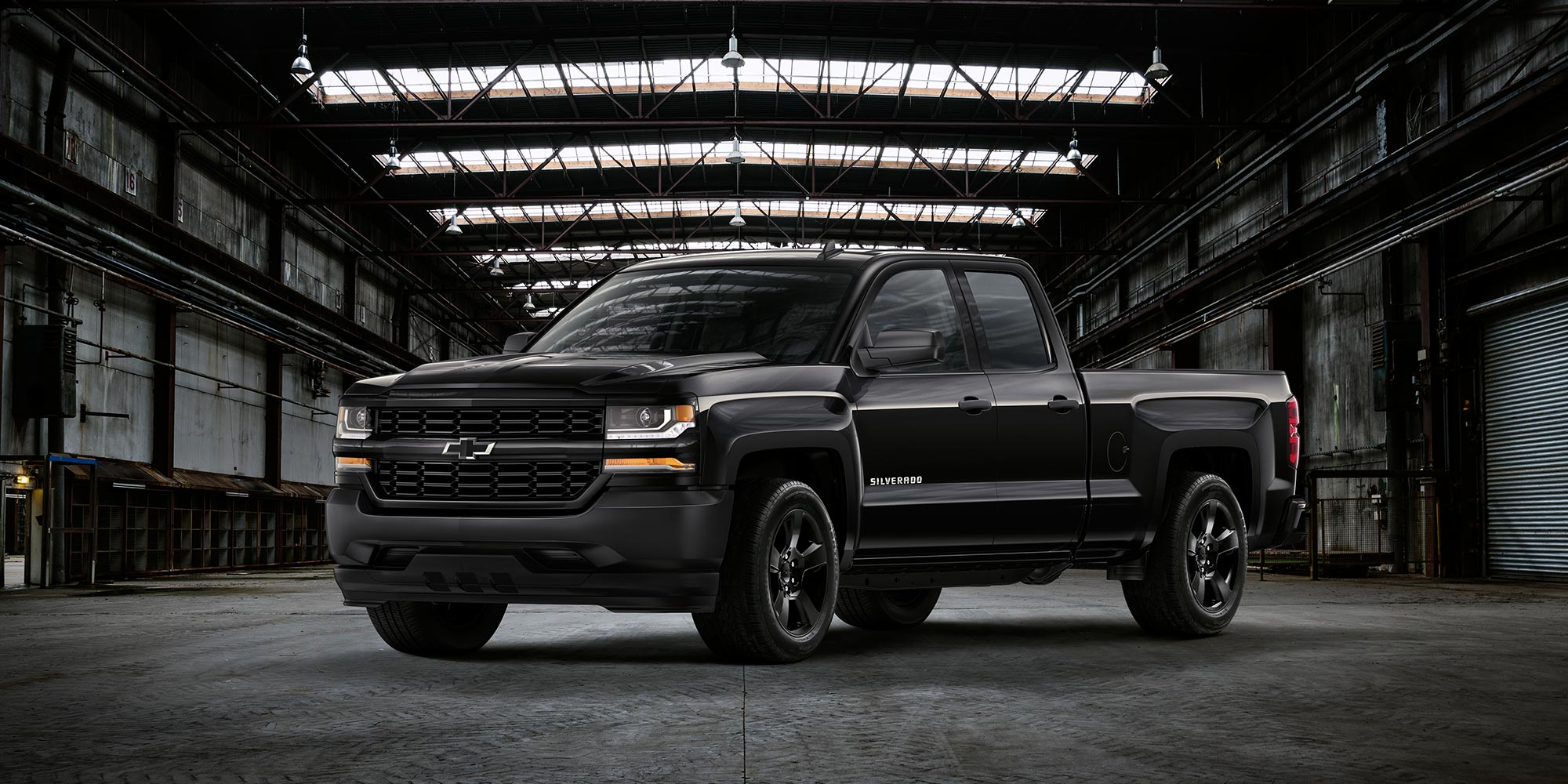 Ediciones especiales de Chevy Silverado: Black Out
