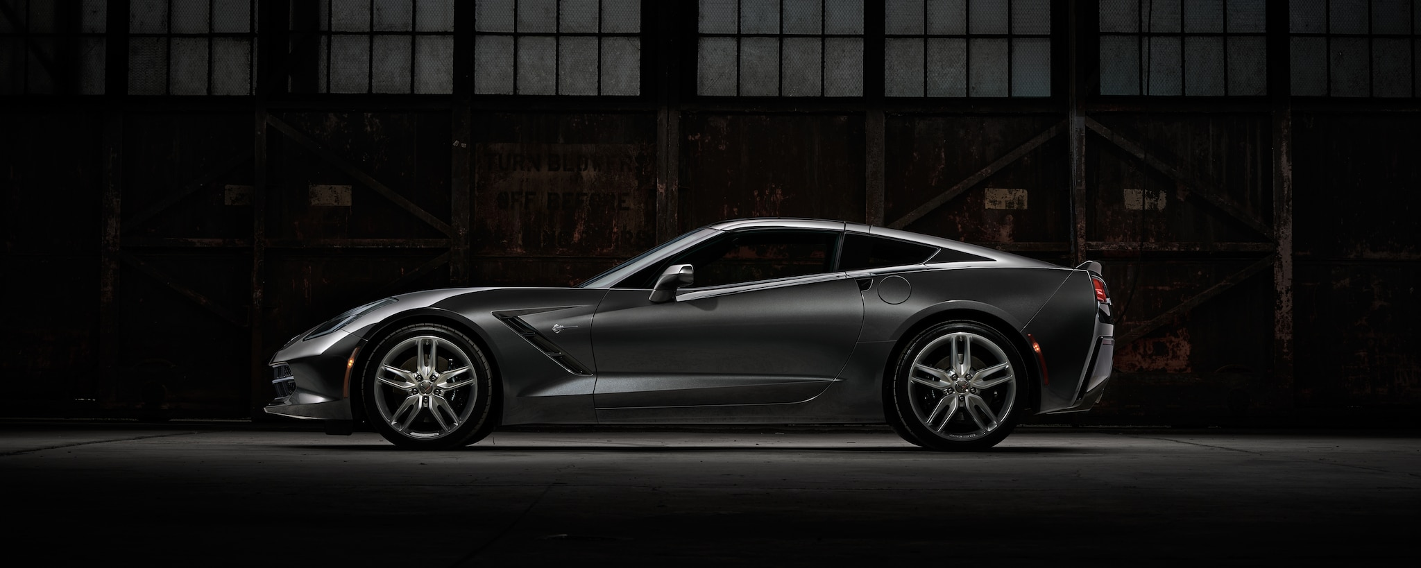 Auto deportivo Corvette Stingray 2017
