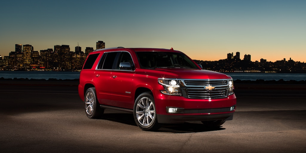 2018 Tahoe SUV Exterior Photo: front- siren red