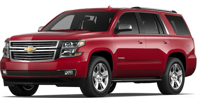 2018 Tahoe Full-size SUV: vista frontal