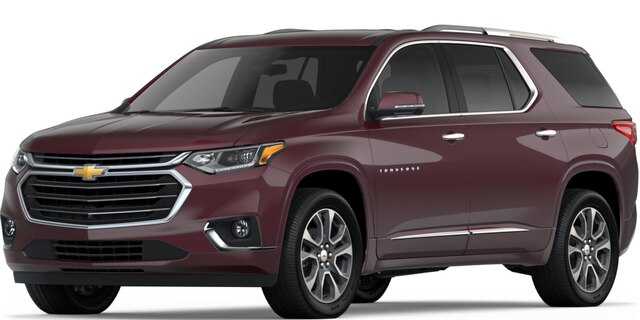 SUV mediana Traverse 2018
