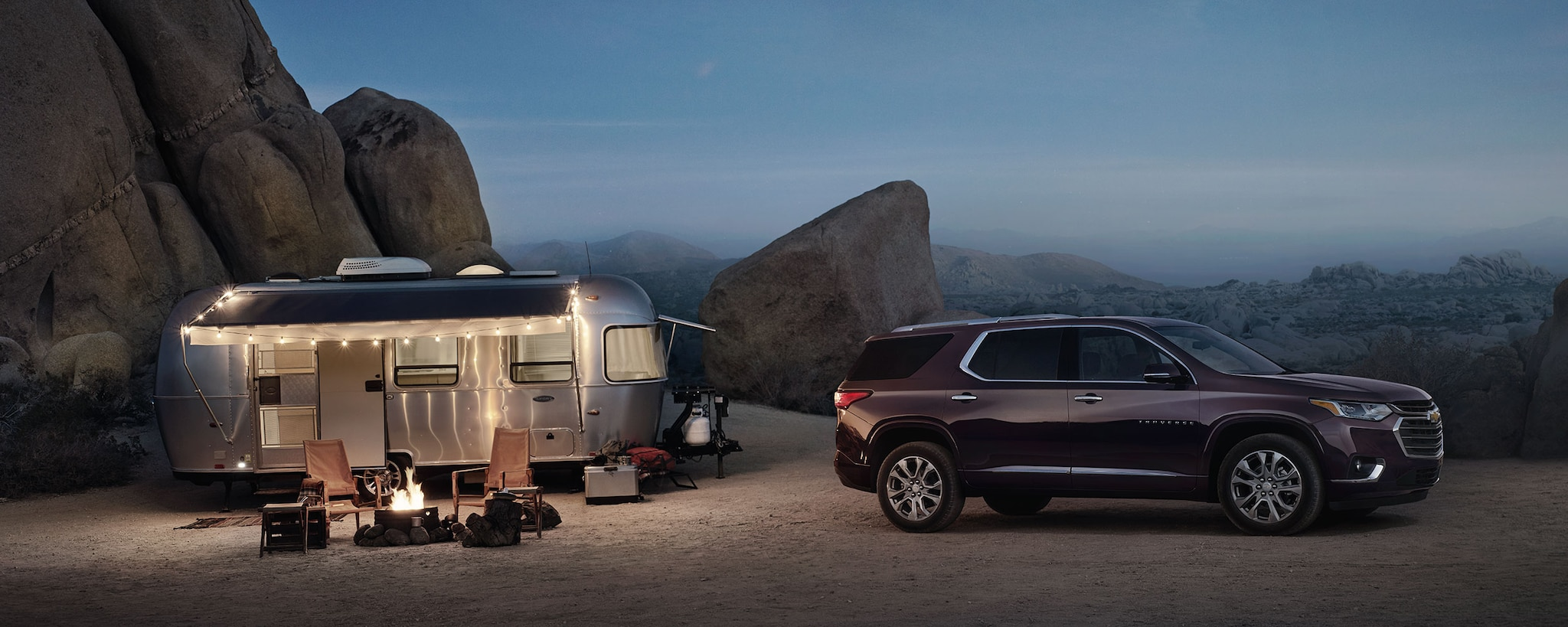 2018 Traverse Midsize SUV Performance: Remolque