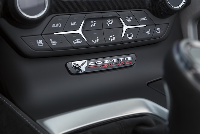 Exclusivos del auto deportivo Corvette Stingray 2018
