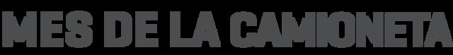 Logo del Mes de la Camioneta