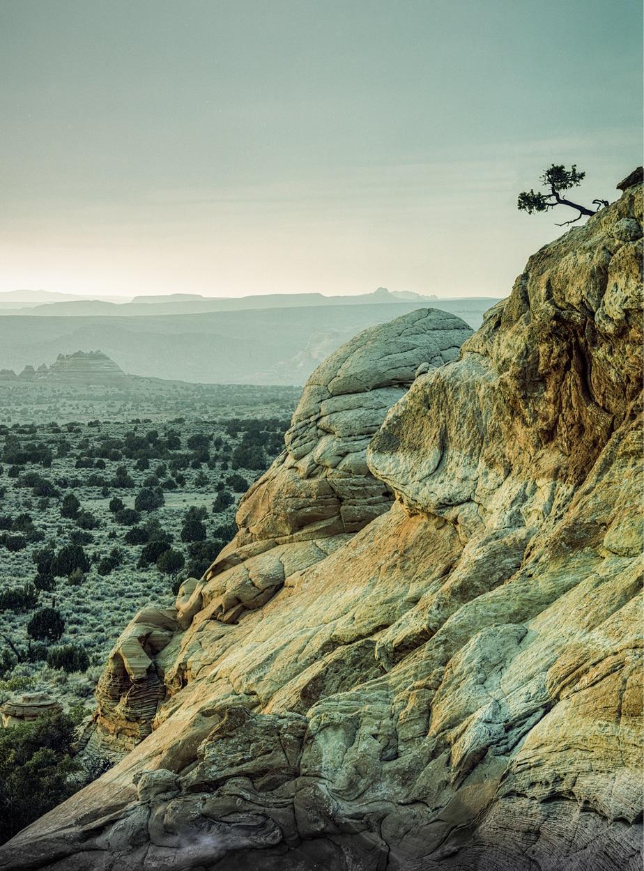Formaciones de roca coloridas en Vermilion Cliffs National Monument.