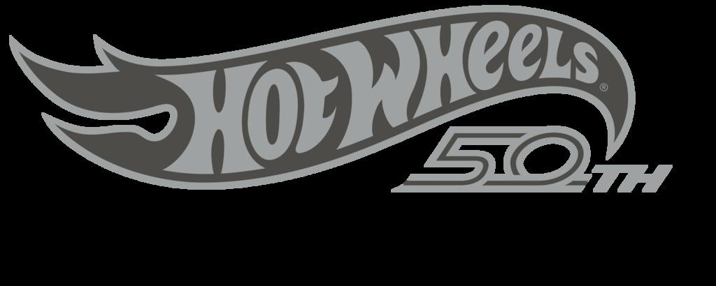 Logo de Hot Wheels 50th Edition