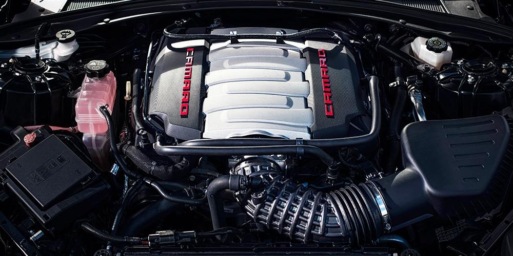 Chevrolet Camaro SS: Motor V8 LT1 de 6.2 L
