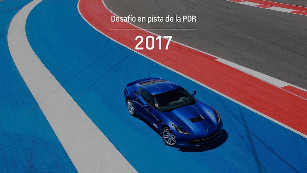 Grabadora de Datos de Desempeño de Chevrolet: Desafío PDR 2017