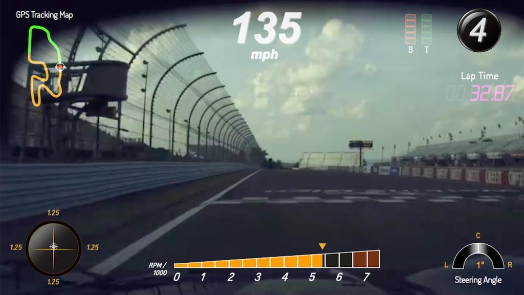 Grabadora de Datos de Desempeño de Chevrolet: pista