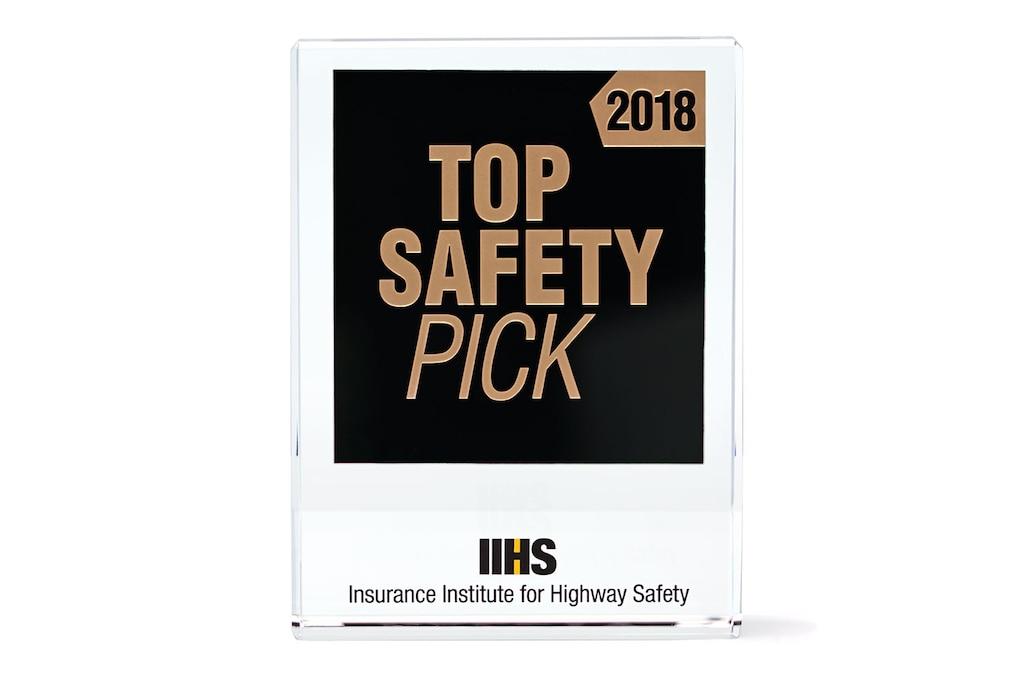 Mejor en seguridad según IIHS