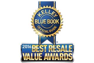 KBB: Premio al mejor valor de reventa 2016