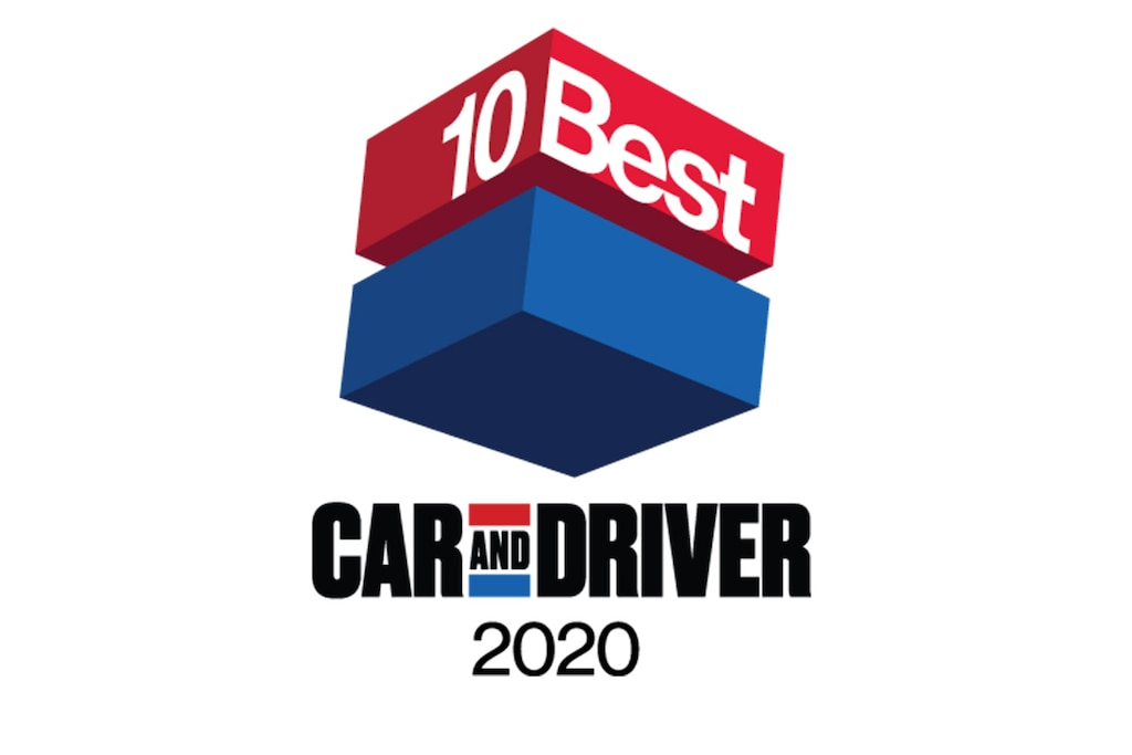 Premio 10Best 2020 de Car and Driver