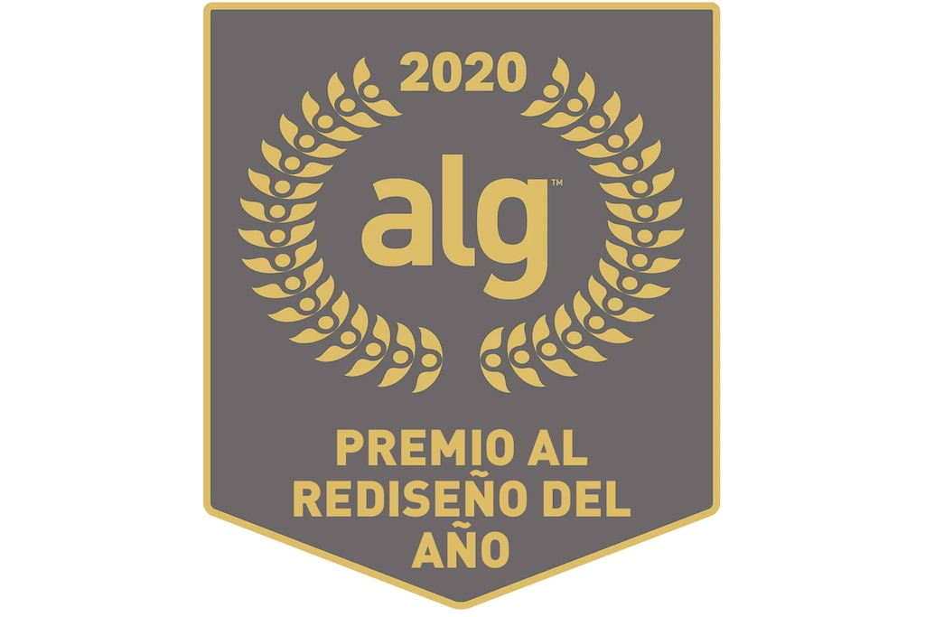 Premio ALG Redesign of the Year 2020