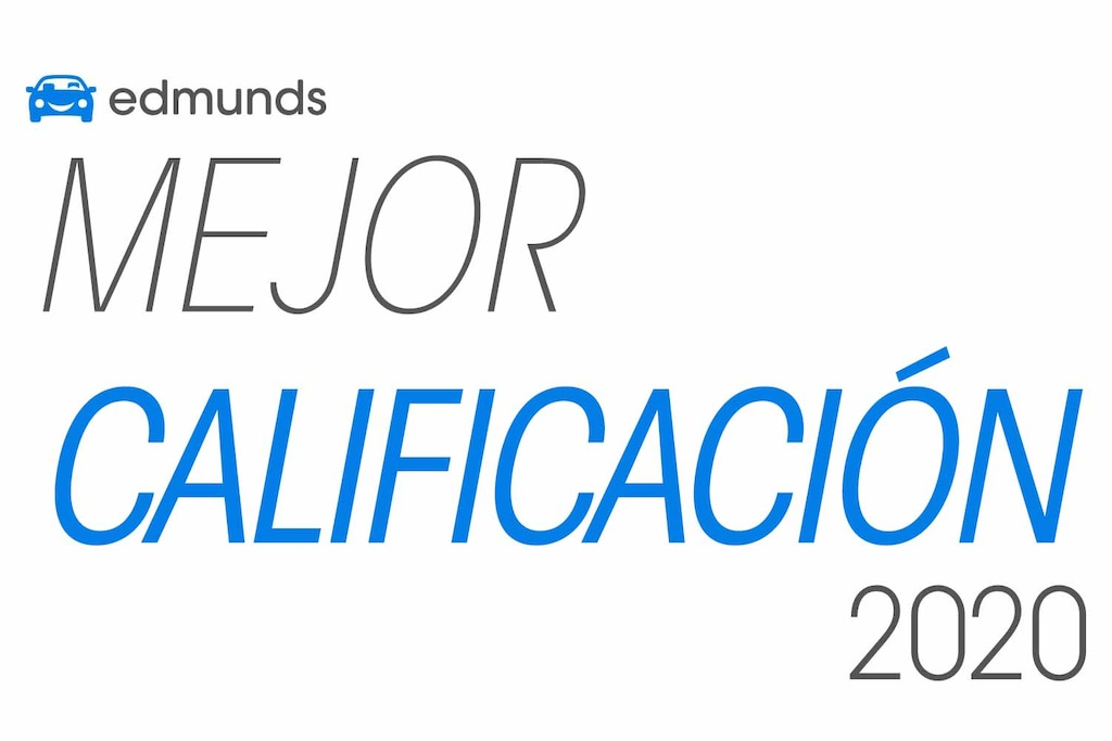 Premio Top Rated 2020 de Edmunds