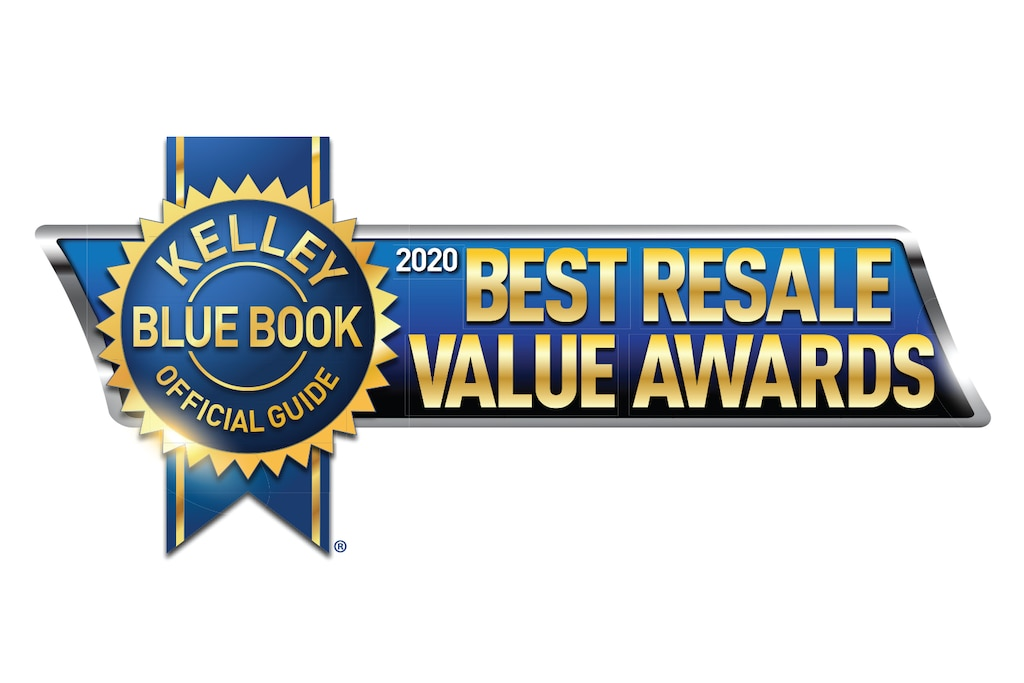 Premio Best Resale Value 2020 de KBB