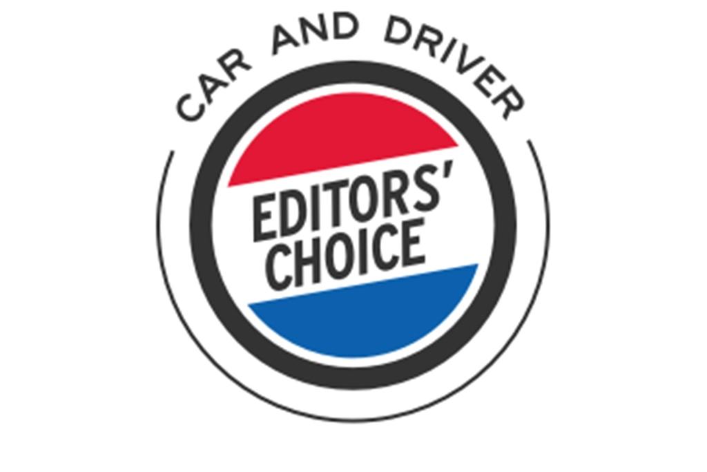 Premio Editor's Choice de Car and Driver