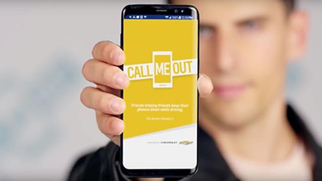 Video Call Me Out de Chevrolet, 1