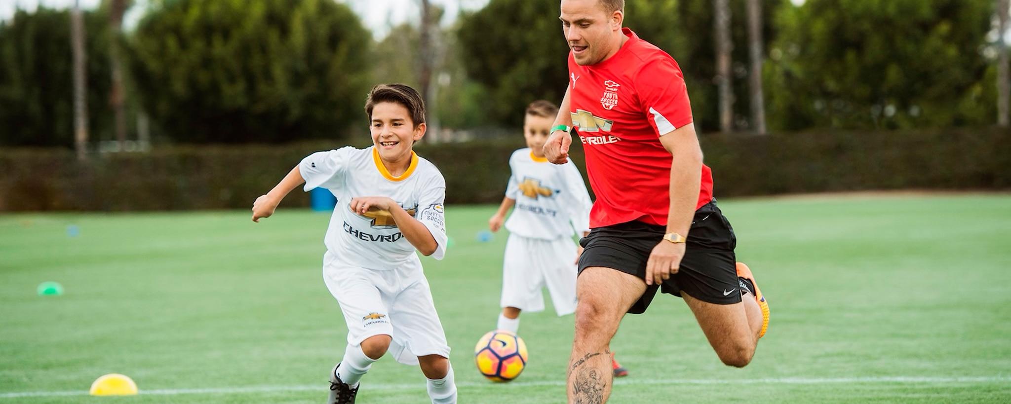 Deportes juveniles Chevy, fútbol