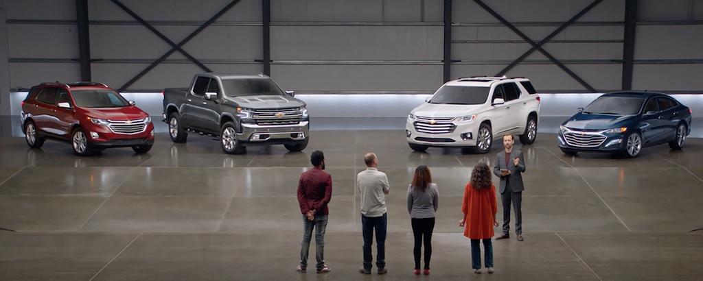 Videos de Chevrolet: Cubierto